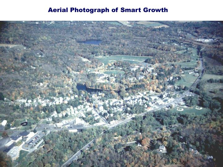 Aerial Photograph of Smart Growth
