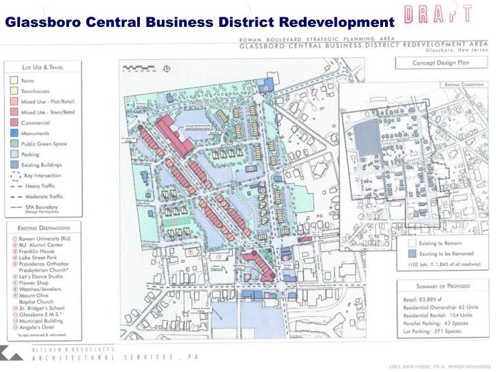 Glassboro Central Business District Redevelopment