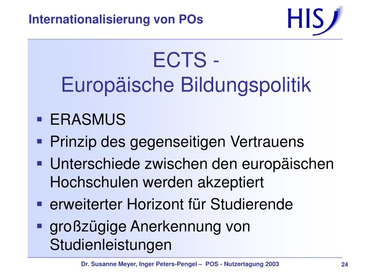 ECTS -
