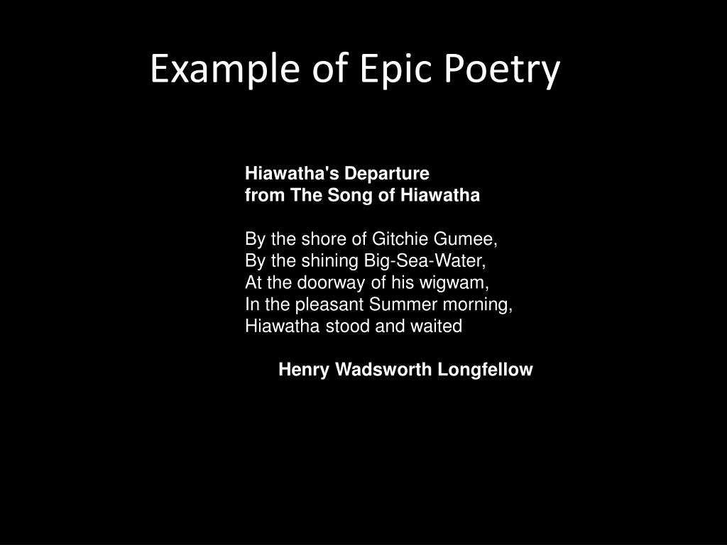 Ppt Types Of Poems Powerpoint Presentation Free Download
