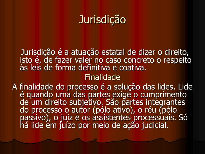 Jurisdição