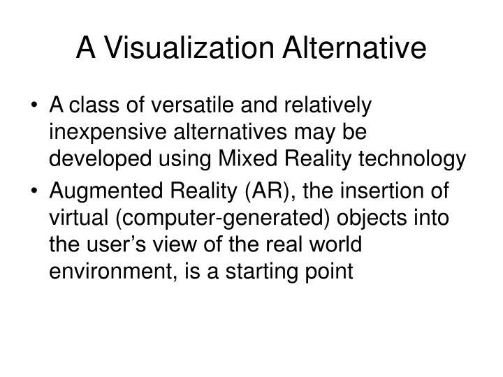 A Visualization Alternative
