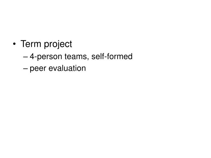 Term project
