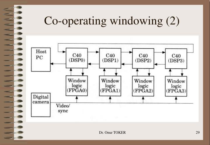Co-operating windowing (2)