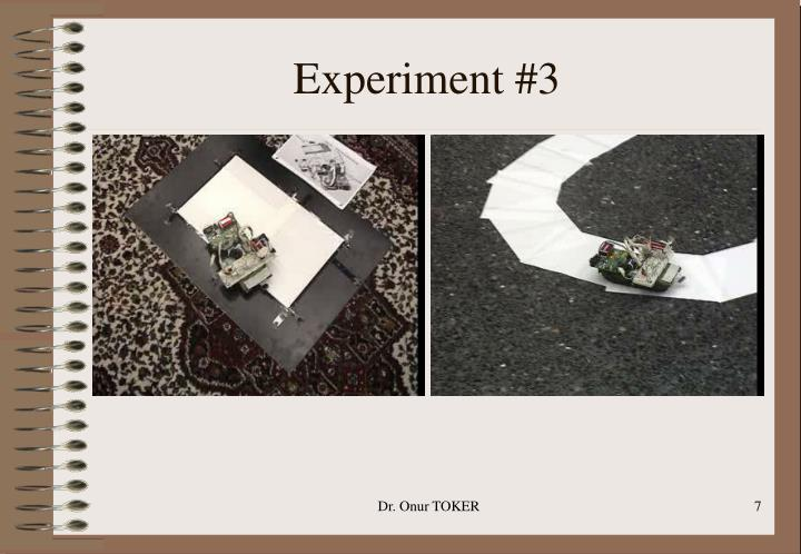 Experiment #3