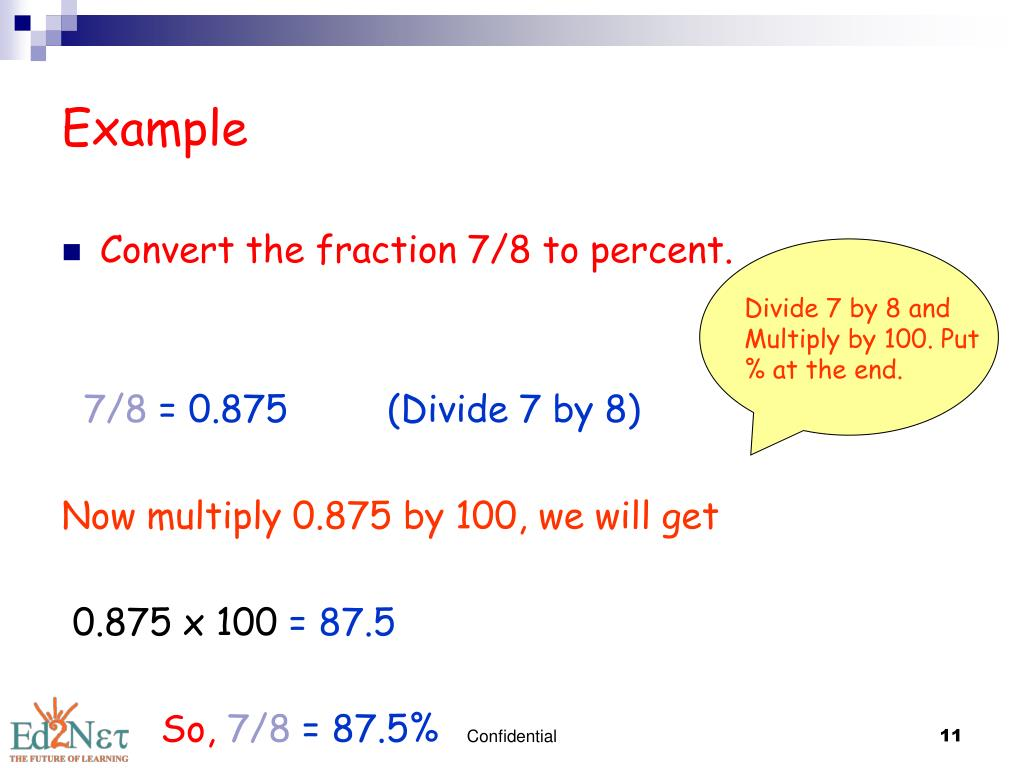Write the decimal 0.875 as a fraction in its simplest form