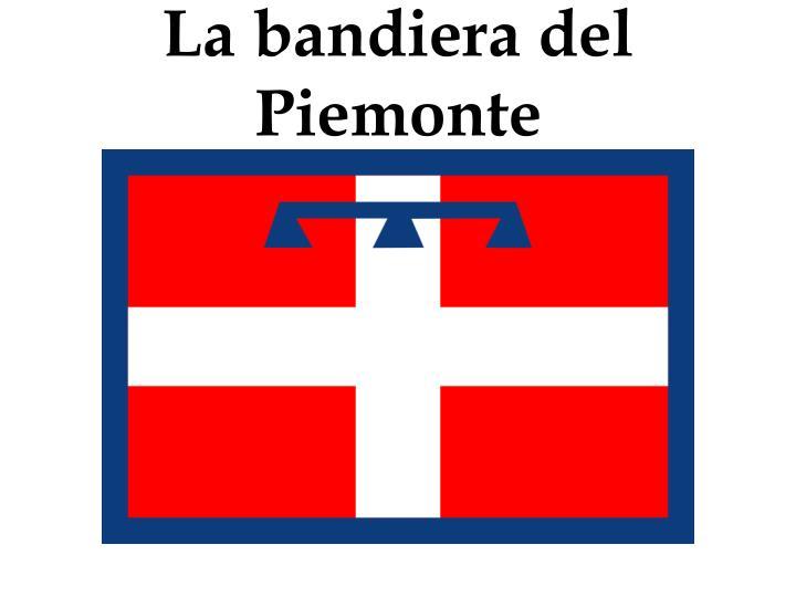 La bandiera del Piemonte