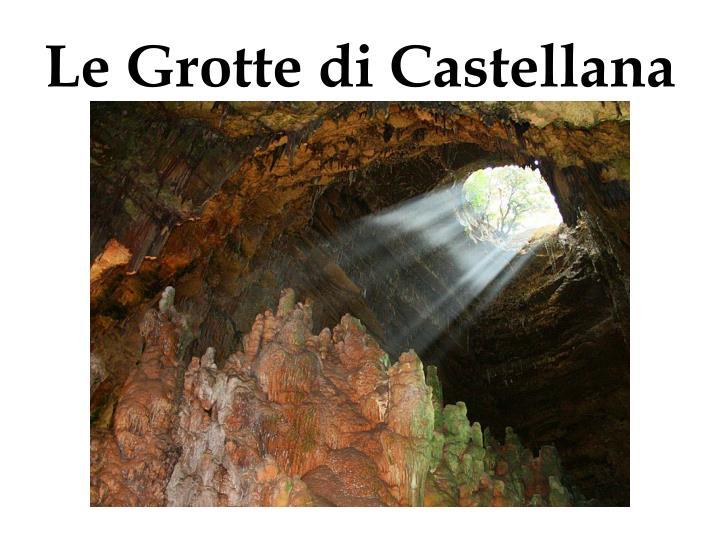 Le Grotte di Castellana