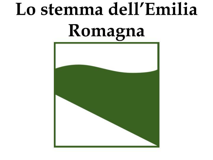 Lo stemma dell'Emilia Romagna