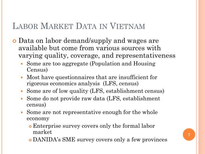 Labor Market Data in Vietnam
