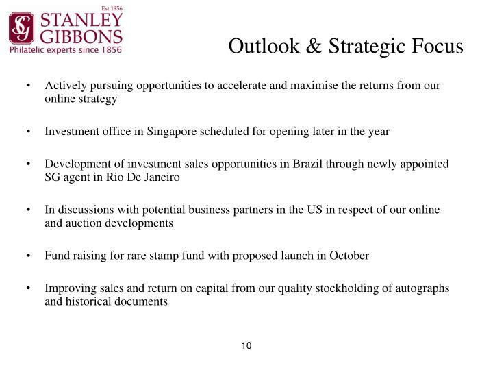 Outlook & Strategic Focus