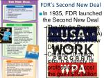 fdr s second new deal