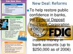 new deal reforms1