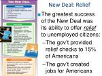 new deal relief