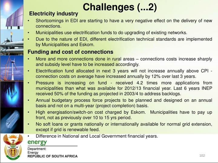 Challenges (...2)
