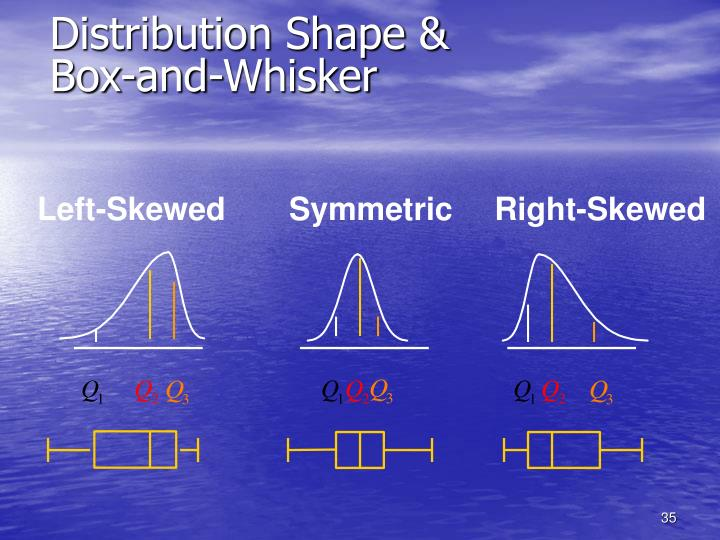 Distribution Shape &