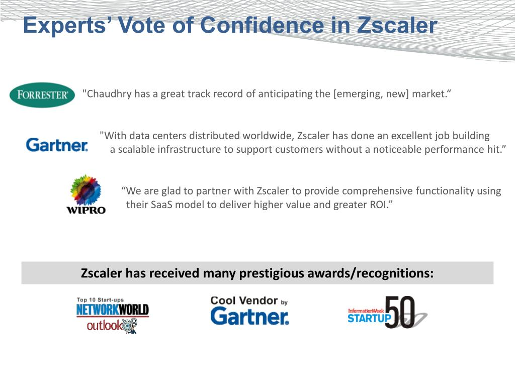 PPT - Zscaler Web Security Services PowerPoint Presentation