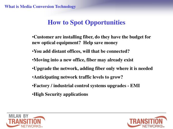 What is Media Conversion Technology