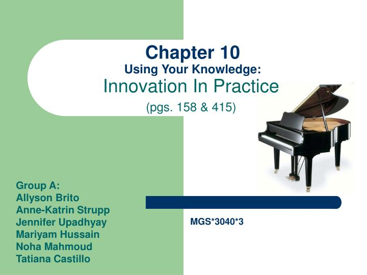 chapter 10 using your knowledge