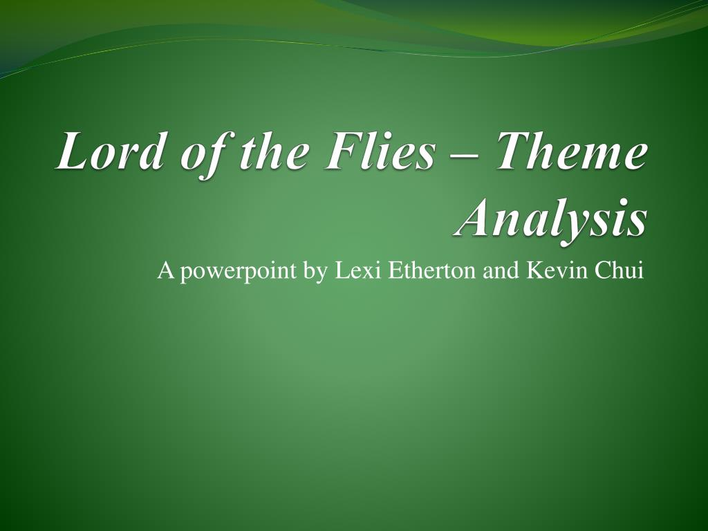 lord of the flies theme analysis