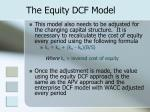 the equity dcf model1