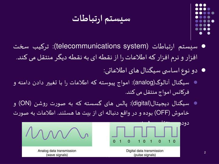 سیستم ارتباطات
