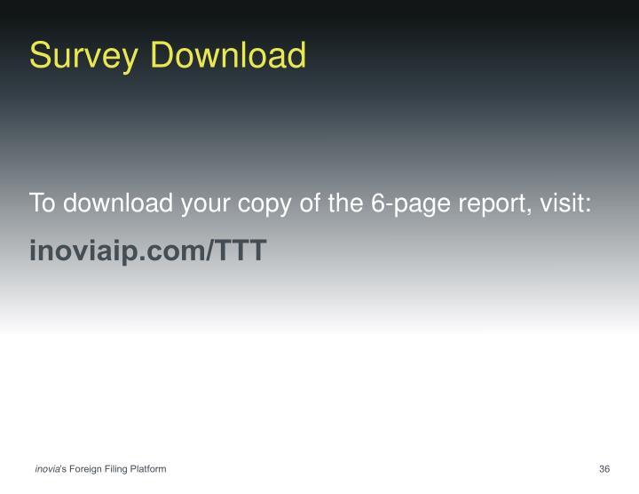 Survey Download