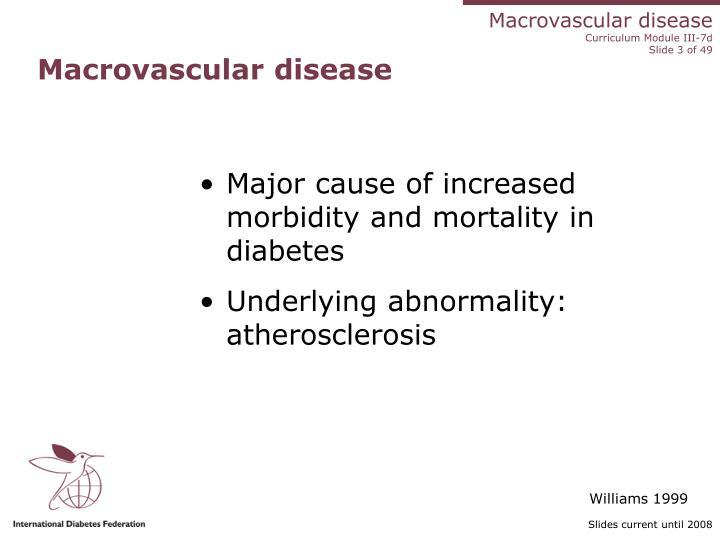 Macrovascular disease2