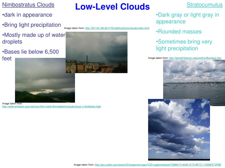 Low-Level Clouds