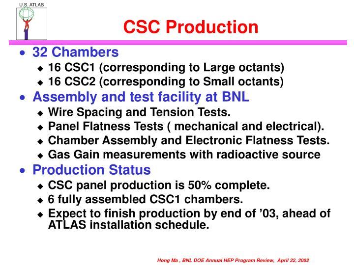 CSC Production
