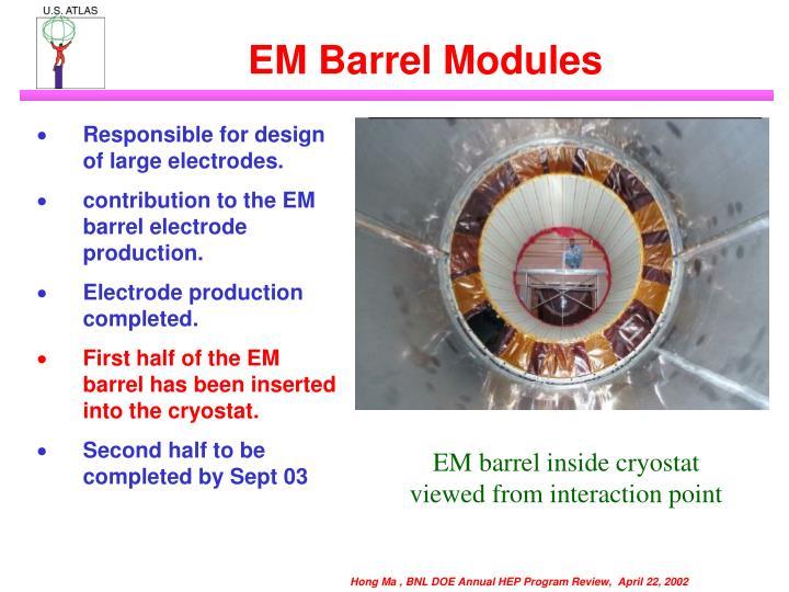 EM Barrel Modules