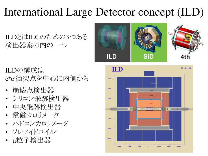 International large detector concept ild
