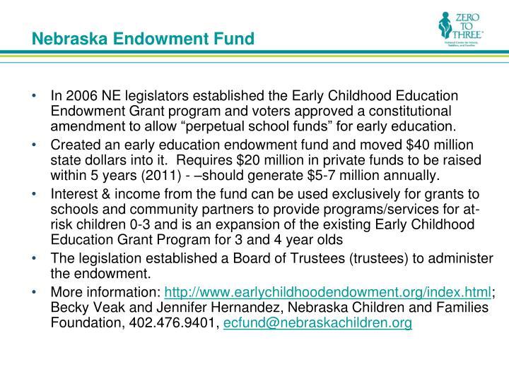 Nebraska Endowment Fund