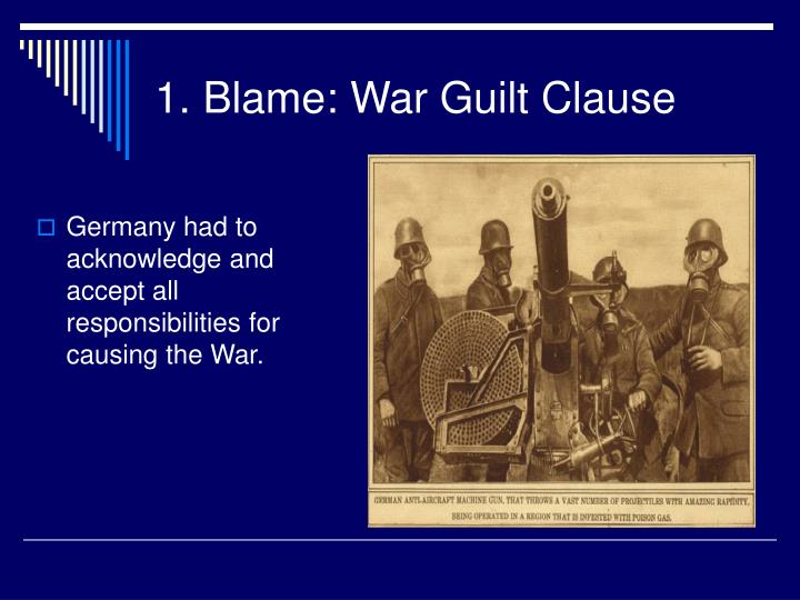 who is responsible for causing world war i Germany is blamed for world war i due to the upset that the country had caused economically and politically to europe in why was germany blamed for world war.