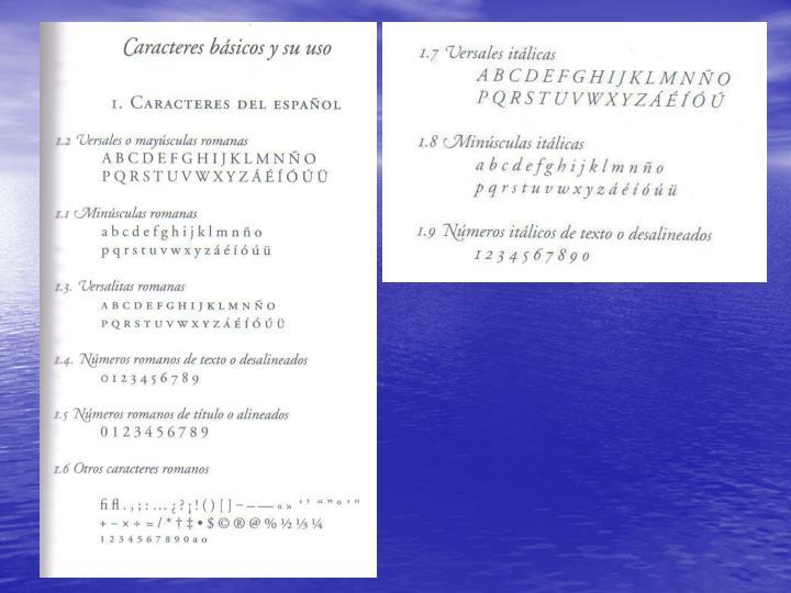 Usos de la tipograf a