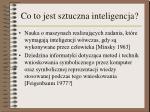 co to jest sztuczna inteligencja