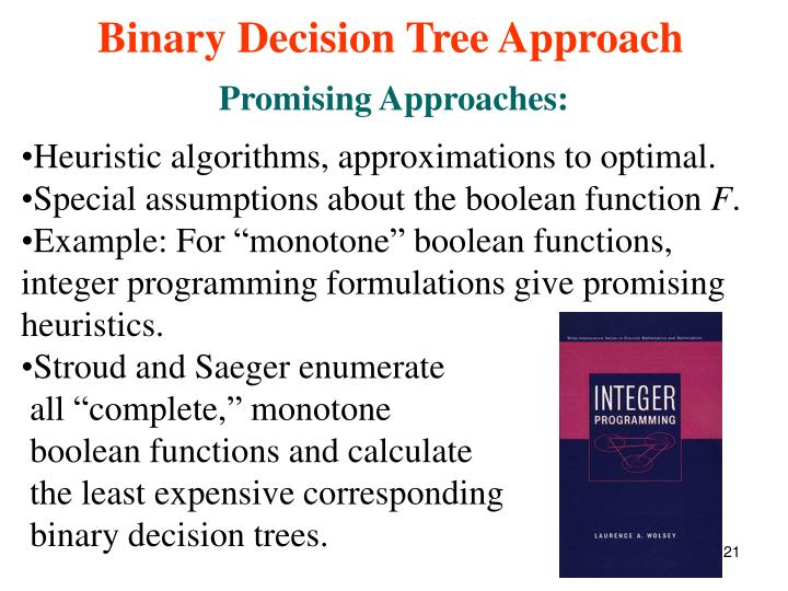 Promising Approaches: