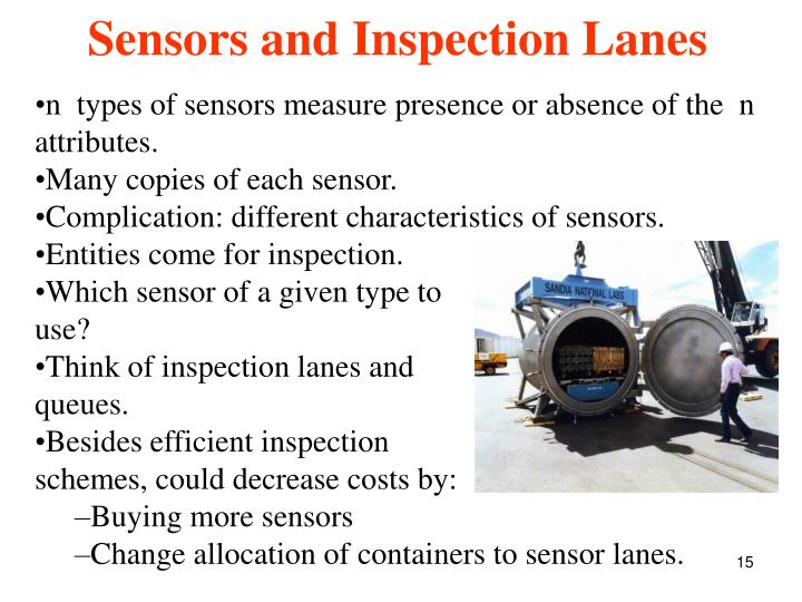 n  types of sensors measure presence or absence of the  n  attributes.