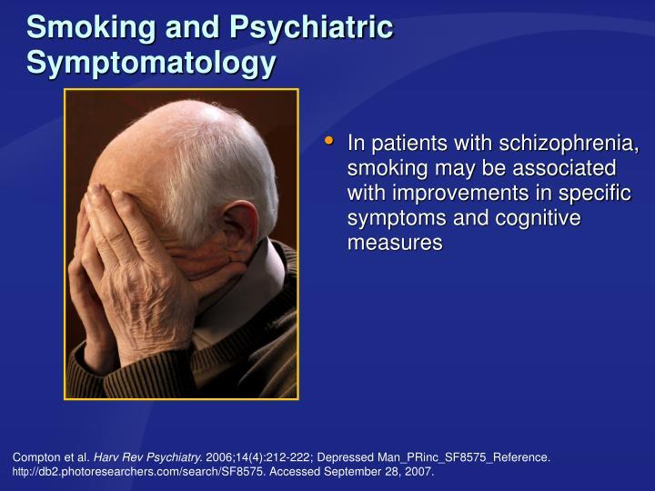 Smoking and Psychiatric Symptomatology