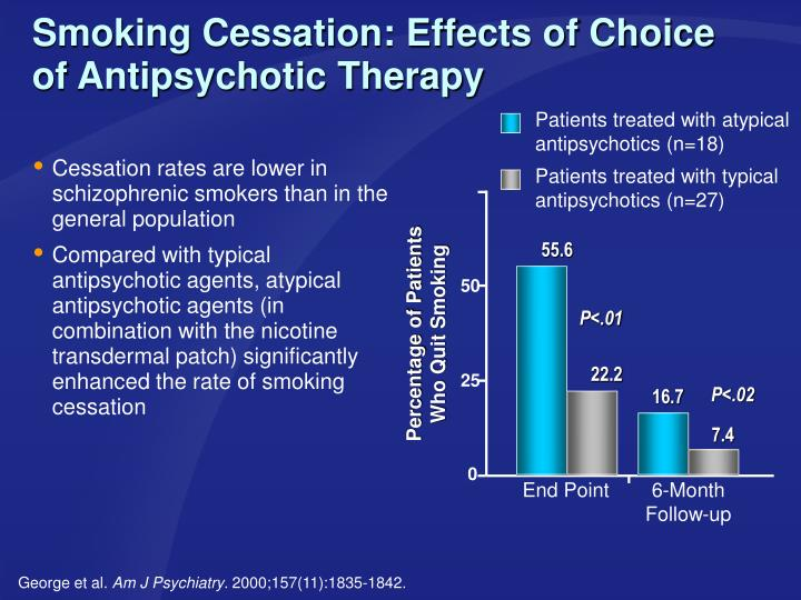 Smoking Cessation: Effects of Choice