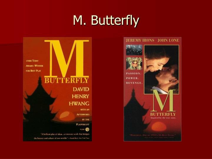 PPT - M  Butterfly PowerPoint Presentation - ID:6004776
