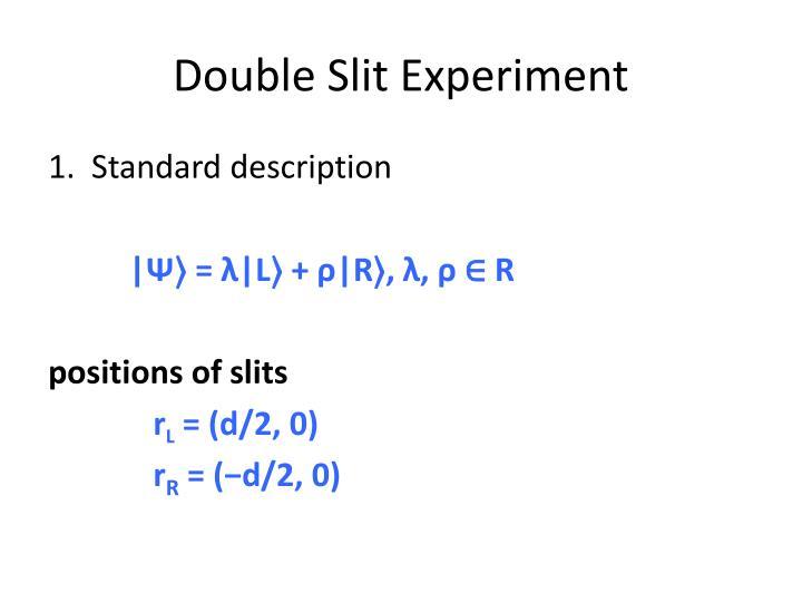 Double Slit Experiment