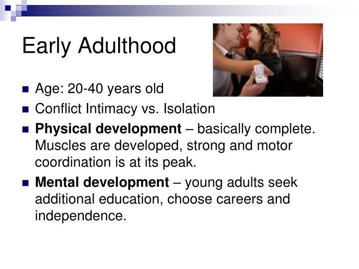 Early Adulthood