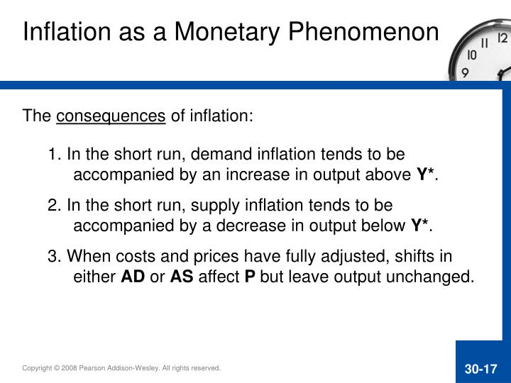 the consequences of inflation
