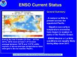 enso current status