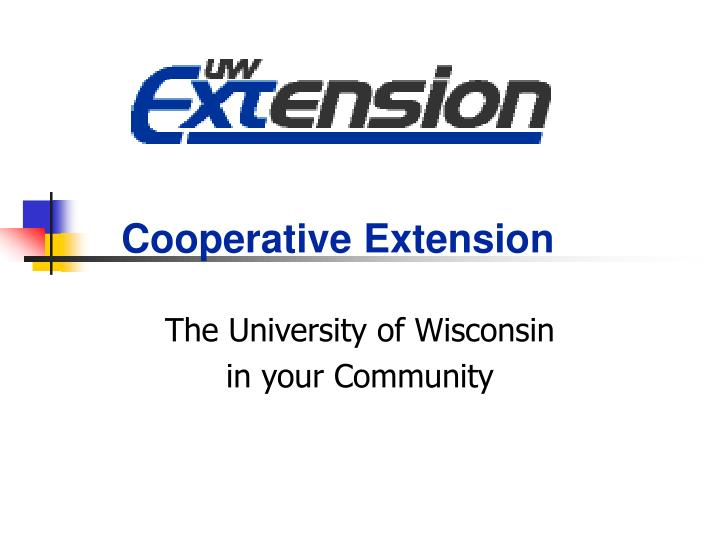 the university of wisconsin in your community n.