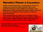 narrative themes conventions