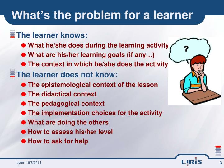 What s the problem for a learner