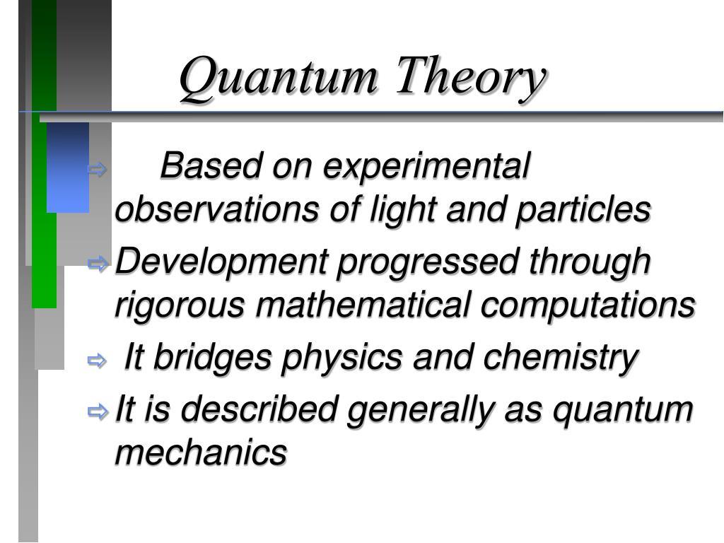 PPT - Quantum Chemistry PowerPoint Presentation - ID:6006108