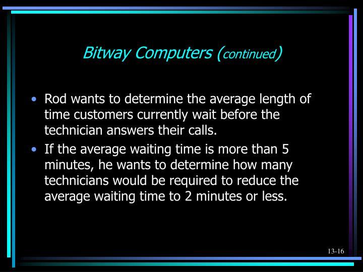 Bitway Computers (